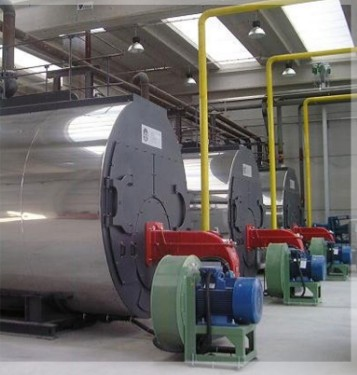 Caldeira tratamento de água