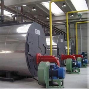 Tratamento de água para caldeira a vapor