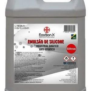 Emulsão de silicone desmoldante